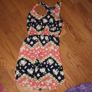 Juniors tank top dress